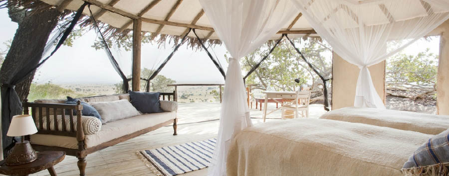 Lamai Serengeti - Lodge Room