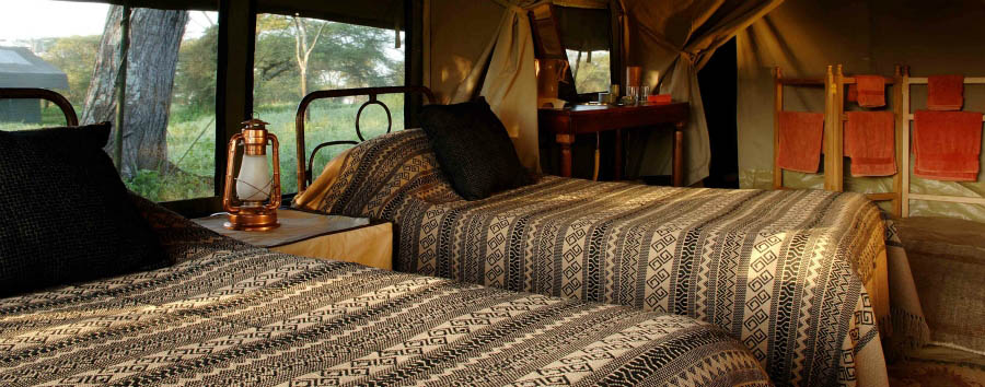 Serengeti Safari Camp - Tent interior