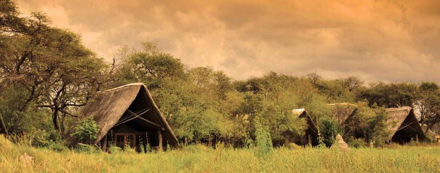 The Hide Safari Camp - View of the camp