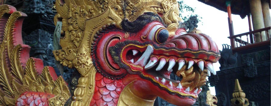 Classic Bali - Indonesia Bali, Dragon Decoration