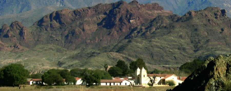 Argentina - View of Hacienda de Molinos from the Ruta 40