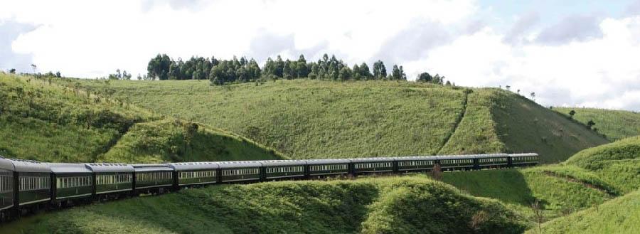 Rovos Rail, da Durban a Pretoria - South Africa KwaZulu-Natal landscape