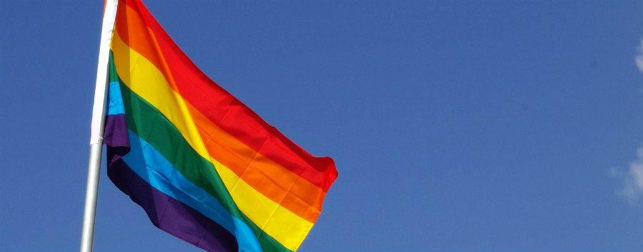 Gay Pride a Tel Aviv - Tel Aviv Rainbow Flag