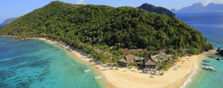 Un nido di emozioni - Philippines Palawan, El Nido Pangulasian Island Resort, Aerial View