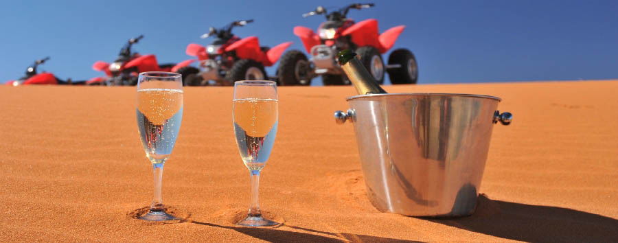 Orizzonti namibiani - Namibia Quad bike tour in the Kalahari Desert
