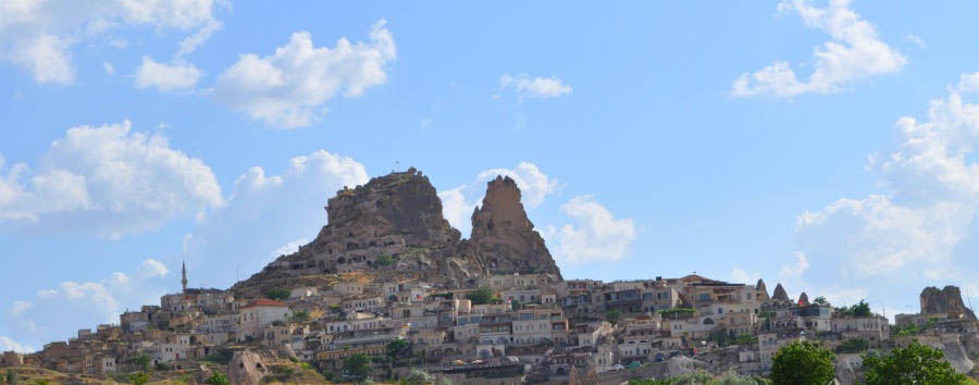 Dalla Cappadocia all'Egeo - Turkey Üchisar Fortress in Cappadocia