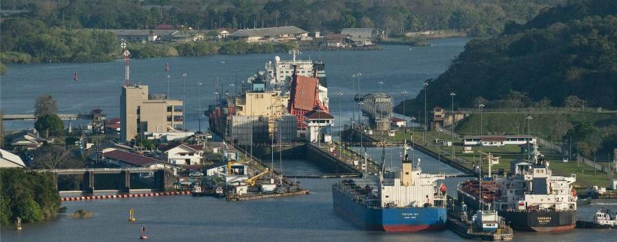 La rotta degli alisei - Panama Panama Canal, Miraflores Lock