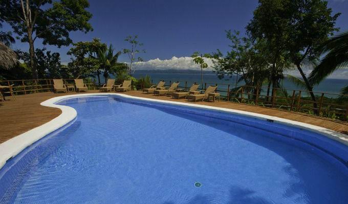 Lapa Rios Ecolodge, Pool Area - Costa Rica
