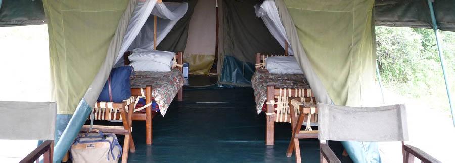 Mantana Tented Camp - Twin tent