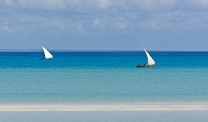 Mozambico, mare a Medjumbe Island