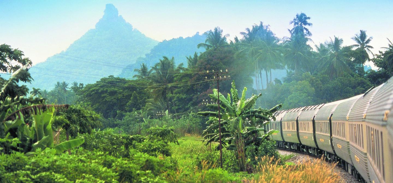 In treno attraverso l'Oriente