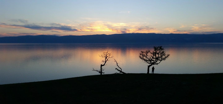 Fuga d'inverno al Lago Baikal