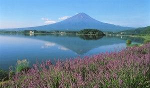 Giappone, il lago Kawaguchi
