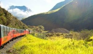 In treno sulle Ande