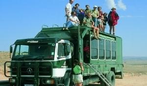 Kruger Adventure on Truck