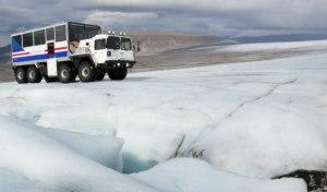 Viaggio al centro del ghiacciaio