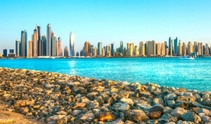 Dubai, mare a Jumeirah Beach
