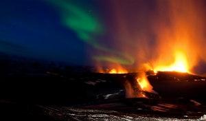 Islanda, natura e aurora boreale