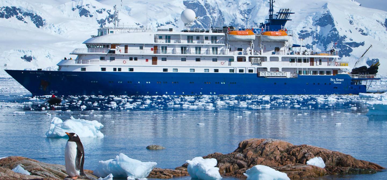 Antartico: Terra dei Pinguini e degli Iceberg