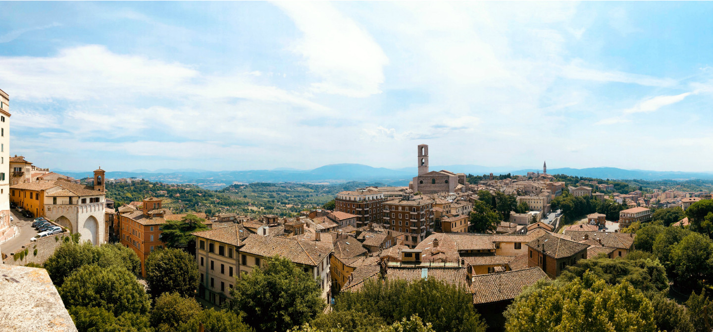 Perugia city break