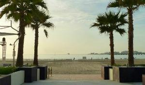 Dubai, mare a Meydan Beach