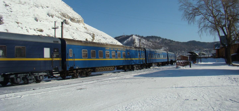 In treno verso l'Aurora Boreale
