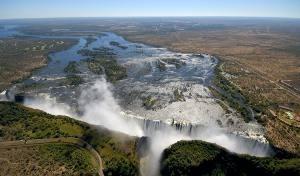Zimbabwe, il fumo che tuona